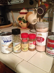 Baked Potato Soup Ingredients